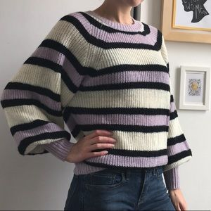 Striped sweater